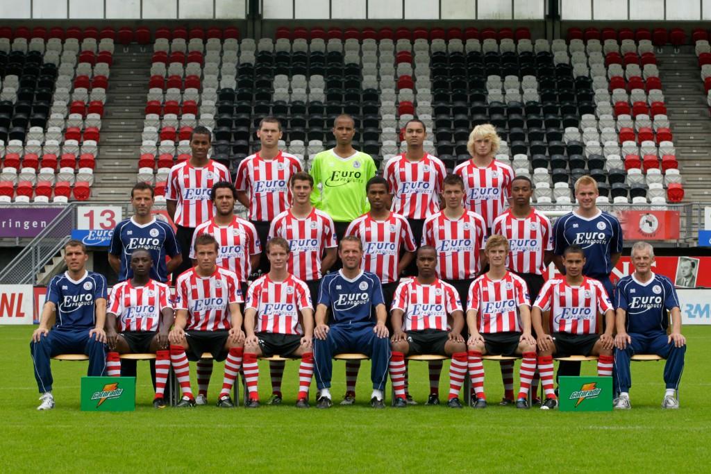 fotopersdag Jong Sparta Rotterdam - seizoen 2011/2012